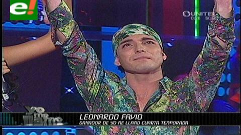 Yo me llamo: Leonardo Favio, ganador indiscutible de la cuarta temporada