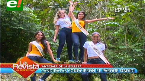 Rumbo al Miss Bolivia 2014: San Buenaventura, vivió la antesala