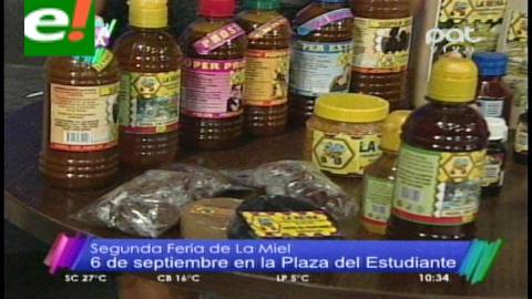 """""""Feria de la Miel"""", se realizará este 6 de septiembre"""