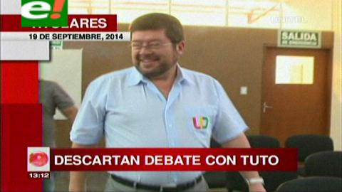 Titulares: Unidad Demócrata descarta debate con Tuto Quiroga