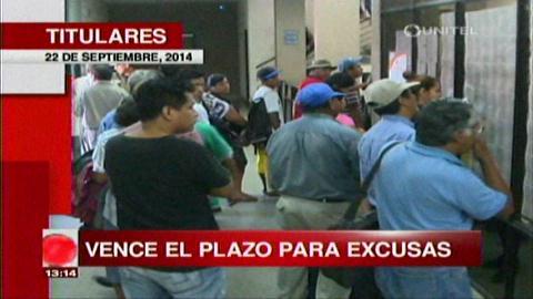 Titulares: Hoy vence el plazo para presentar las excusas en el Tribunal Electoral