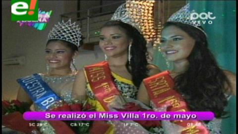 Ciudadela Villa Primero de Mayo eligió a sus misses