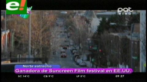 """Producción boliviana """"Norte estrecho"""" gana en el Festival Internacional Sunscreen de EEUU"""