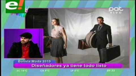 A un día del Bolivia Moda 2015