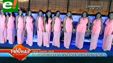 Miss Santa Cruz 2015: 14 candidatas quieren la corona