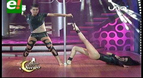 Derroche de sensualidad de Vanessa Áñez y Elu González