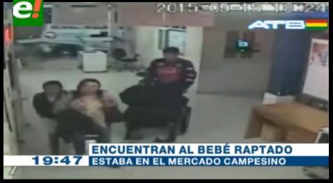 Sucre. Aprehenden a raptora y encuentran al bebé sano