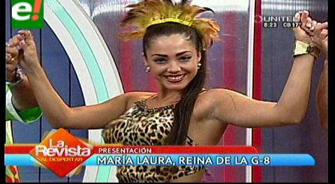 Agrupación carnavalera G-8 presentó a su soberana 2016