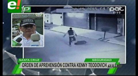 Orden de aprehensión contra Kenny Teodovich