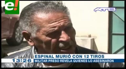 Revelación. Exmilitar acusa a dos coroneles como autores del asesinato del padre Espinal