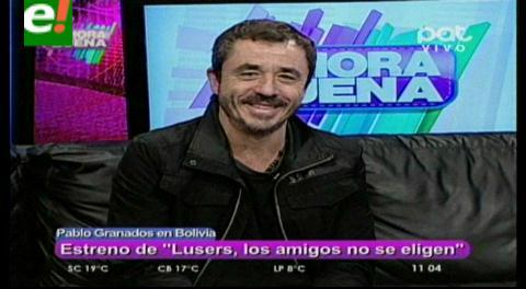 """""""Lusers, los amigos no se eligen"""" la nueva comedia con Pablo Granados"""