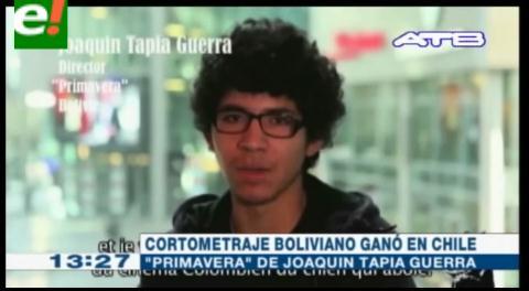Cormetraje boliviano ganó Festival en Chile