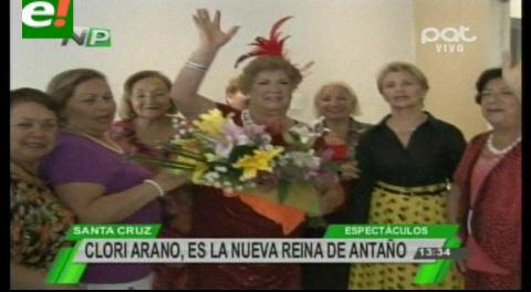 """""""Clory Arano"""" es la nueva Reina del Carnaval de Antaño"""