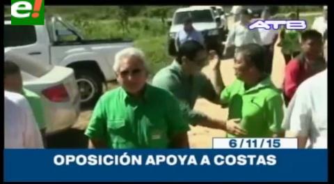 Titulares de TV: Oposición anunció que trabajará con la figura de Rubén Costas para candidato presidencial
