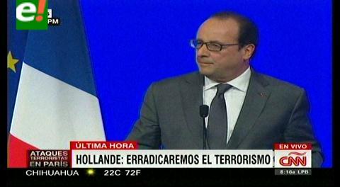 Presidente de Francia busca coalición contra el terrorismo