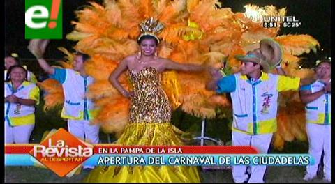 Apertura del Carnaval 2016 en las ciudadelas