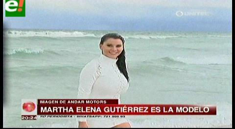 Marta Elena Gutiérrez en nuevo proyecto publicitario