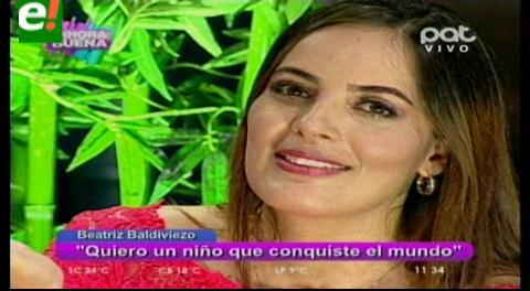 Beatriz Baldiviezo al desnudo