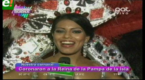 La Pampa de la Isla coronó a su soberana del Carnaval