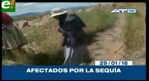 Titulares de TV: La sequía afecta gran parte del país