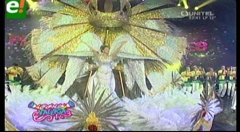 Gran coronación de Valeria como Reina del Carnaval 2016