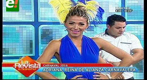 Adriana Méndez es reina de Alianza Carnavalera