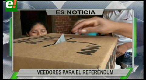 Titulares de TV: Comisión de la OEA está en el país para garantizar su participación como veedor en el referéndum