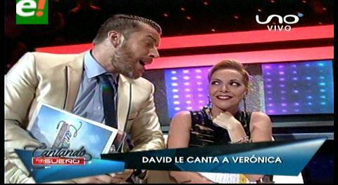 Cantando por un Sueño: El momento romántico entre Verónica Larrieu y David Dionich