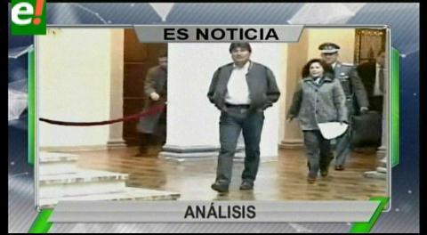 Titulares de TV: Movimientos Sociales plantean la búsqueda de alternativas que permitan continuidad de Evo Morales