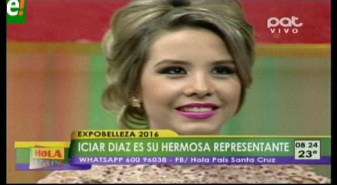 Iciar Díaz elegida reina de Expobelleza 2016