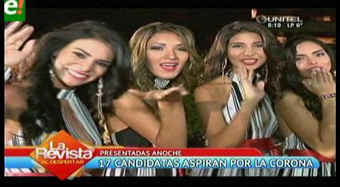 Ellas quieren la corona de Miss Santa Cruz 2016