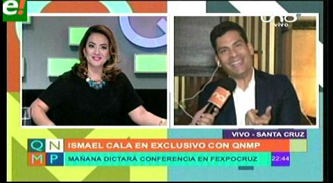 Ismael Cala quiere llevar tu vida a otro nivel