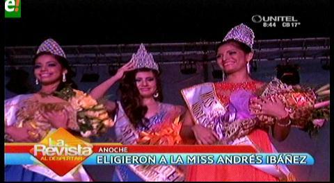 Eligieron a Miss Ciudadela Andrés Ibánez 2016