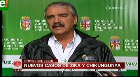 Aumentan casos de zika y chikungunya en Santa Cruz