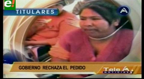 Titulares de TV: Gobierno descartó toda posibilidad de atender demanda de discapacitados