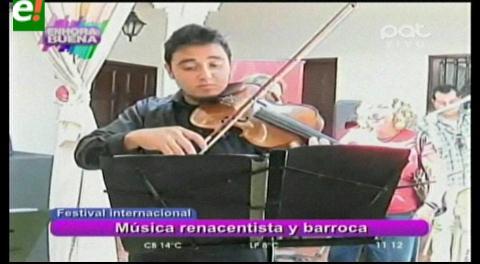 Todo listo para el XI Festival Internacional de Música Barroca