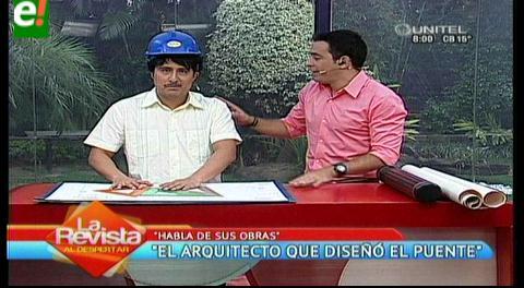 """Arquitecto """"Armando Fuente de las Casas"""" explica porqué el puente se cayó"""