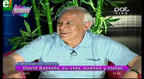 David Santalla al desnudo