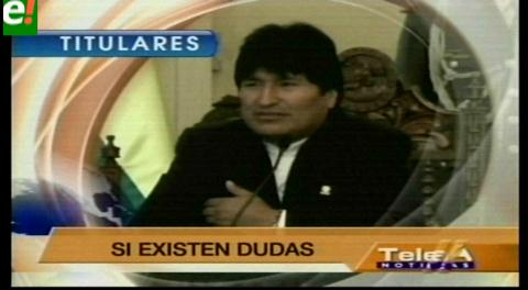 Titulares de TV: Defensa de Zapata  aceptará prueba de ADN si el Gobierno lo pide