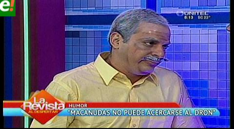 "Juez prohíbe a 'Macanudas' acercarse al dron ""Ramón"""