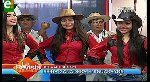 Guarayos. Feria Ganadera del 6 al 8 de mayo