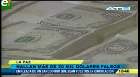 La Policía detiene a tres personas con más de 20.000 dólares falsos