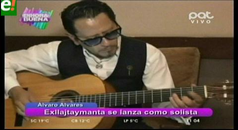 Álvaro Álvarez ex integrante de Llajtaymanta inicia su carrera como solista