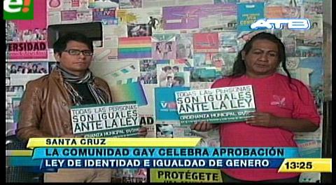 Comunidad LGBT celebra la aprobación de la Ley de Identidad de Género
