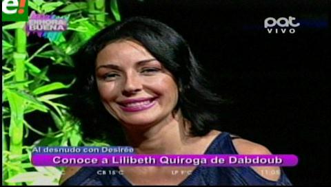 Lilibeth Quiroga al desnudo
