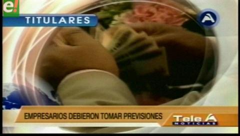 Titulares de TV: Académicos de la UMSA certifican que el crecimiento económico del país llegará al 5%