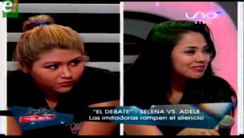 Imitadoras de Adele y Selena protagonizan vergonzosa discusión