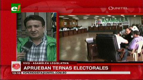 Santa Cruz: ALD aprobó ternas para vocales electorales
