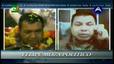 Felipe Moza se da tiempo para decidir ingreso a la política