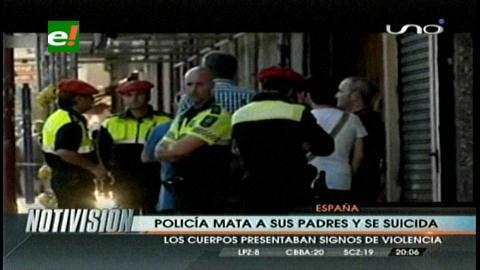 España: Policía mata a sus padres y se suicida
